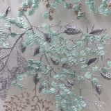 Alibaba liturgical lime green lace fabric