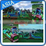 Adult Mega Inflatable Obstacle Course For Sale, Inflatable Mega Obstacle For Kids And Adult