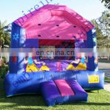 colorful SnowWhite bouncy castle for sale JC039
