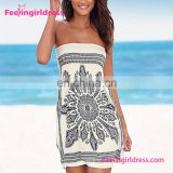 Attractive New Design Fashion Sexy Casual Summer Dress Beach Or Cover Up