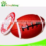 SM. Football Eco-friendly Rubber Pet Products Pet Toys with Deep for Dogs,China Pet Toy Factory