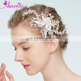 INquiry about Amelie Handmade Wedding Headpiece Prom Halo Delicate Crystal Marquise Hair Clip Bridal Hair Ornaments Hair Jewelry Decoration
