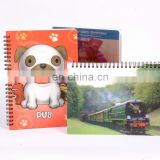 lenticular manufacturer notebook laser cover with high quality