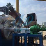 Doing latest fully continuous waste tire pyrolysis plant