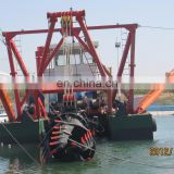 600 cbm/h Self propelled Tin ore mining and dredging machinery cutting dredger river suction dredges for sale from supplier