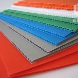 2-7mm Eco-friendly PP Twin Wall Plastic Sheet