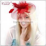 fashion red hair flowers clip design