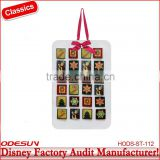 Disney factory audit manufacturer's paper calendar fridge magnet 149181