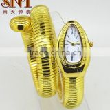 alloy watch gold color plating watch