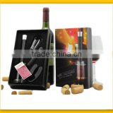 Deluxe bar accessory wine tool set