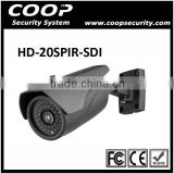 High Resolution DSP Panasonic CMOS IR-CUT 1080P 2 Megapixel HD SDI Bullet Camera