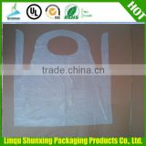 christmas cheap plastic aprons / christmas disposable aprons / kid aprons from china