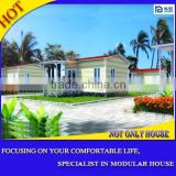 mobile home with security doors and steel chassis against humidity moisture and insects waterproof flooring