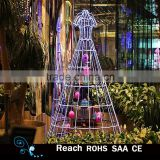 Lighted window display modern decoration/store window display