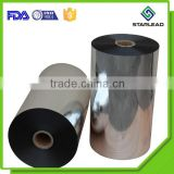 Vacuum aluminum coated one side heat sealable silver metallised BOPP film                                                                         Quality Choice