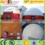 Custom made giant inflatable party dome tent for sales