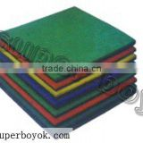 Good quality and resonable price Professional manufacturer EN1177 safe Rubber Tile