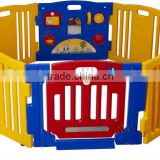 Big colorful baby playpen made by safety material