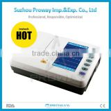 ECG-R3306G Digital 6-Channel ECG Machine Device -- Touch Screen Electrocardiograph with Optional PC ECG Software