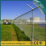 Galvanized Chain Link Fence/Diamond Chain Link Wire Fence /PVC Chain Link Fencing (Guangzhou Factory)                                                                         Quality Choice