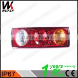 WEIKEN new products Auto spare parts Auto Car truck tractor LED rear tail light WK-BSWD09