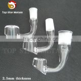 2.5mm or 4mm thick 90 or 45 degree Quartz banger nail male& female 10mm or 14mm or 18mm