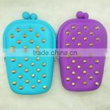 Multi-functional Silicone Purse, Silicone Eyeglasses case, Promotional Silicone Cosmetic Bag