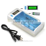 MP 906 Universal LCD Smart Quick Battery Charger & Discharger for AA, AAA, C, D, 9V, Ni-MH, Ni-CD Rechargeable Batteries