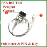 PSA Peugeot Citroen Professional BSI Tool-- read and write eeprom of BSI, programming new KM in BSI
