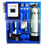 Marine R.O. sea water desalination plant/reverse osmosis fresh water generators
