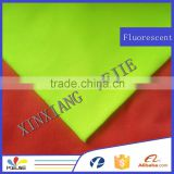 EN 471 level fluorescent safety vest fabric with fluorescent yellow colour