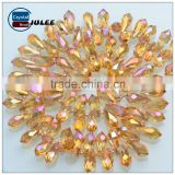 Lampwork Glass Beads Teardrop crystal glass beads for curtains