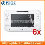 Screen Protector For Nintendo Wii U , 6PCS Video Game Player Screen Protector