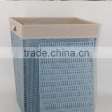 rectangular recycled plastic folding laundry basket for wholesale