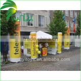 Pairs of Advertising Inflatable Pillars/Inflatable Serving Bar