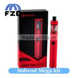 Good price china wholesale vaporizer pen authentic kanger subvod mega VS ego aio kit