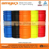 100% Factory !!! High Density Hollow EVA Grid Foam Yoga Exercise Muscles Stretch Deep Massage Point Foam Roller