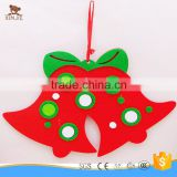 cheap promotional bell shape felt christmas tree decorate toys                                                                         Quality Choice