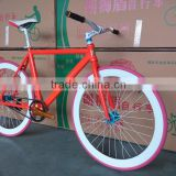 Competitive Price 700C Fixed Gear Alloy Aluminum Single Speed Road Bike