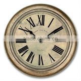 Antique Roman Numerals Decorative Wall Clock