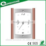 Simple and stylish pendulum wood wall clock