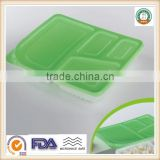 800ml PP Disposable Plastic Fast Food Storage Container /Lunch Box Wholesale SGS/FDA Appoval Microwave Oven Safe
