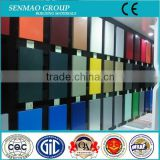 waterproof exterior wall panel wood grain finishing plastic composite exterior wall material aluminum plastic board