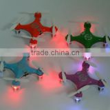 Wholesale 2.4G Pocket Drones 4CH Quadcopter CX 10C mini pocket drone Control Helicopter USB Copter Professional Drones