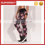 K-995 Womens Exercise Leggings Running Yoga Sports Fitness Gym Stretch Pants