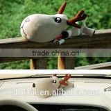 Reusable activated carbon car deodorizer Deer doll bag Bamboo Charcoal doll bag car decorative Deer doll