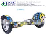 2016 Htomt 2 wheels self balancing electric air wheel hoverboard 10 inch smart balance hoverboard with Samsung battery
