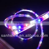 Flexible LED Strip Light SMD3528 FULL color Kit 12V 300leds silicone tube waterproof triple color with remote