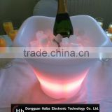 Plastic Party Events Club Bar Used Illuminated acrylic ice bucket wholesale Chinese suppliers