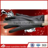custom logo printed microfiber electronics jewelry black gloves,cleaning gloves,microfiber glove dusters                                                                         Quality Choice